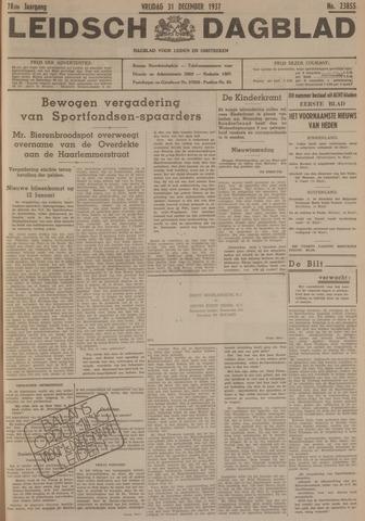 Leidsch Dagblad 1937-12-31