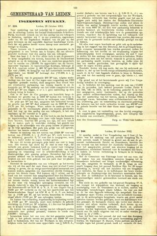 Handelingen van de Raad 1912-10-29
