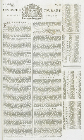 Leydse Courant 1828-05-07