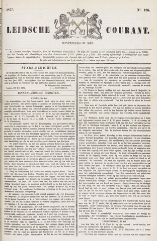Leydse Courant 1877-05-31