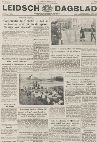Leidsch Dagblad 1956-02-06