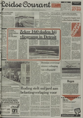 Leidse Courant 1987-08-17