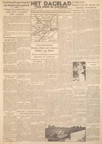 Dagblad voor Leiden en Omstreken 1944-09-18