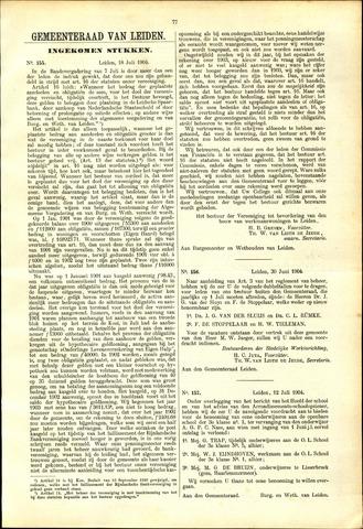 Handelingen van de Raad 1904-07-18