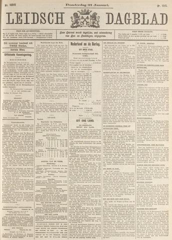 Leidsch Dagblad 1915-01-21