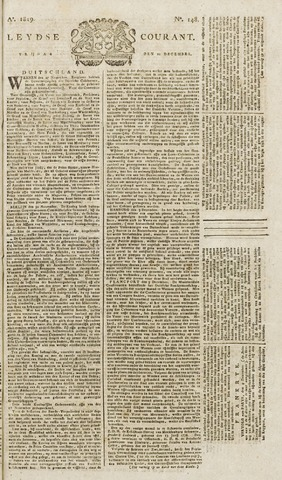 Leydse Courant 1819-12-10