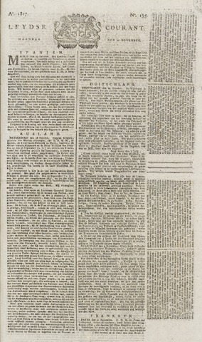 Leydse Courant 1817-11-10
