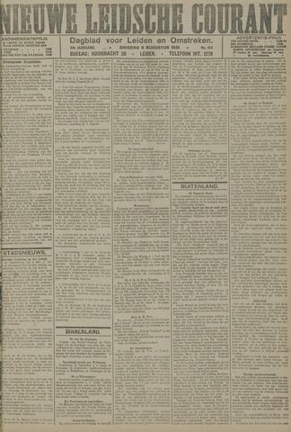 Nieuwe Leidsche Courant 1921-08-09