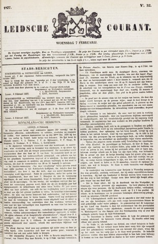 Leydse Courant 1877-02-07