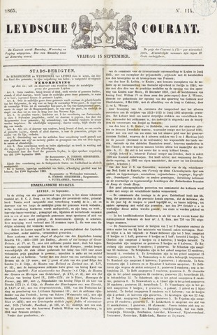 Leydse Courant 1865-09-15
