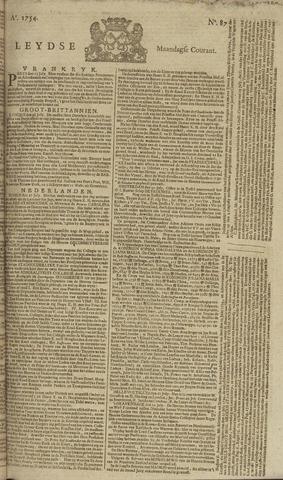 Leydse Courant 1754-07-22