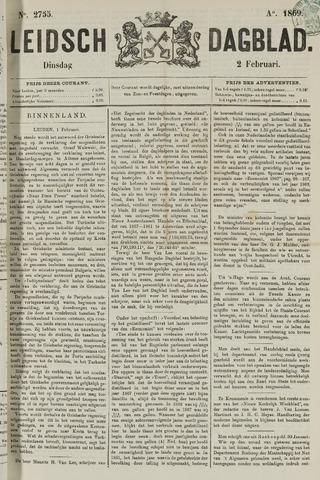 Leidsch Dagblad 1869-02-02