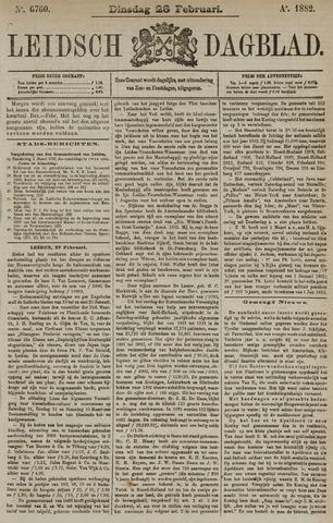 Leidsch Dagblad 1882-02-28
