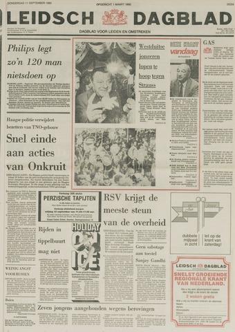 Leidsch Dagblad 1980-09-11