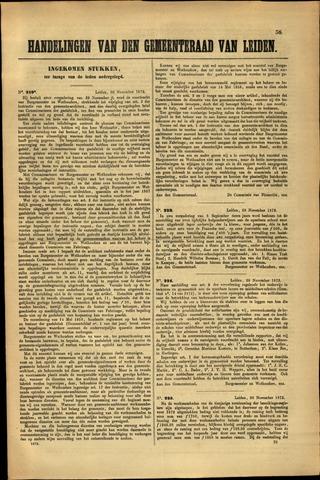 Handelingen van de Raad 1872-11-30