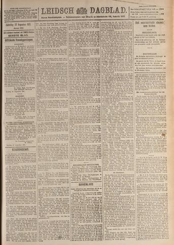 Leidsch Dagblad 1921-08-27
