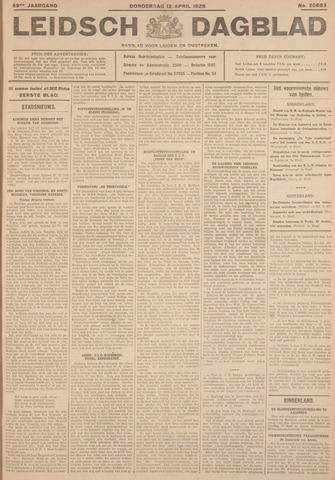 Leidsch Dagblad 1928-04-12