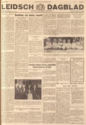 Leidsch Dagblad 1949-08-06