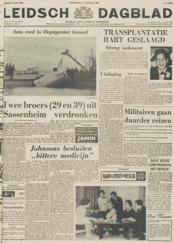 Leidsch Dagblad 1968-01-03