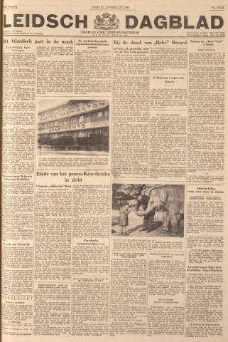 Leidsch Dagblad 1949-02-22
