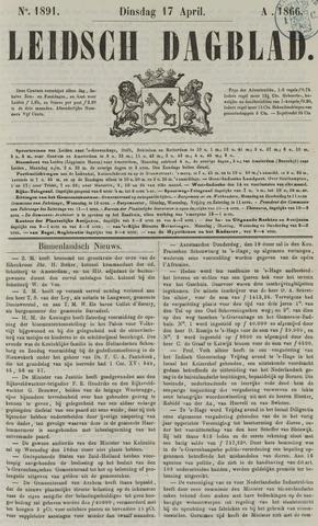 Leidsch Dagblad 1866-04-17