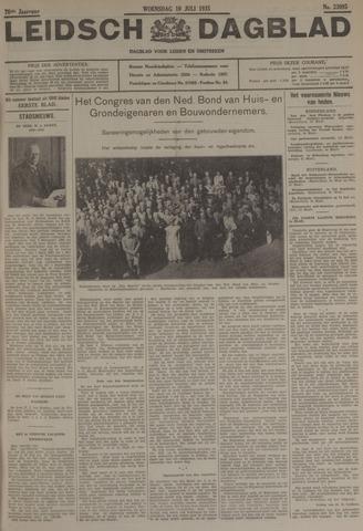 Leidsch Dagblad 1935-07-10