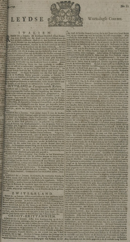 Leydse Courant 1729-01-26
