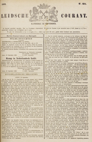 Leydse Courant 1883-09-22