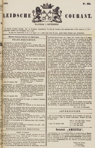 Leydse Courant 1884-09-01