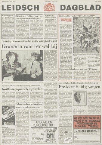 Leidsch Dagblad 1988-06-20