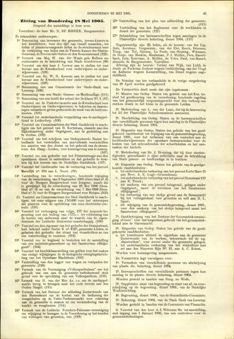 Handelingen van de Raad 1905-05-18