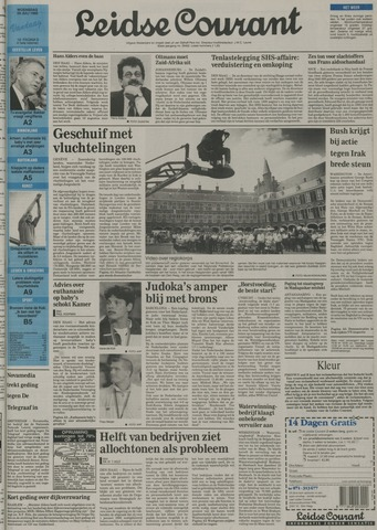 Leidse Courant 1992-07-29