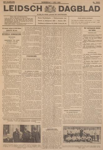 Leidsch Dagblad 1928-07-05