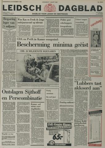 Leidsch Dagblad 1982-11-25