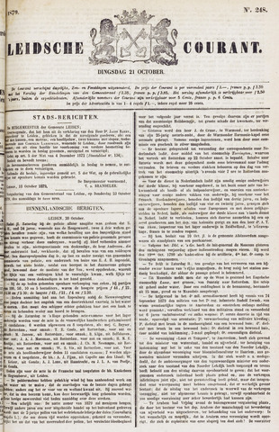 Leydse Courant 1879-10-21