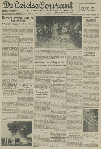Leidse Courant 1949-09-07