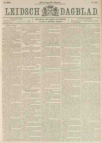 Leidsch Dagblad 1894-03-20