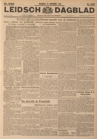 Leidsch Dagblad 1942-11-16