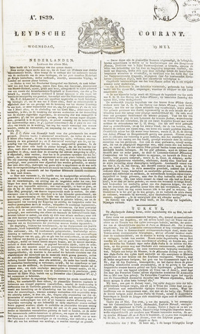 Leydse Courant 1839-05-29