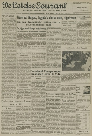 Leidse Courant 1954-02-25