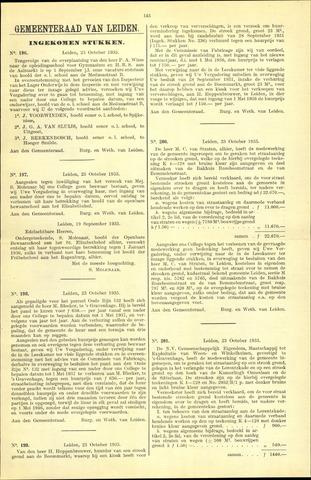 Handelingen van de Raad 1935-10-23