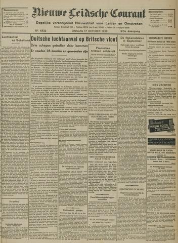 Nieuwe Leidsche Courant 1939-10-17