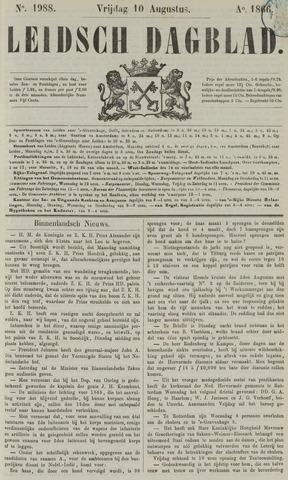 Leidsch Dagblad 1866-08-10