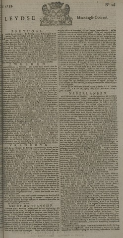 Leydse Courant 1739-03-02