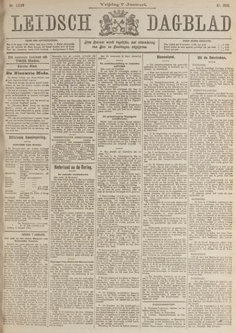 Leidsch Dagblad 1916-01-07