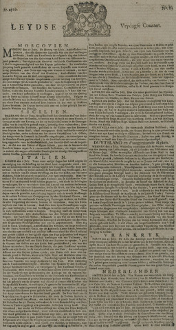 Leydse Courant 1729-07-22