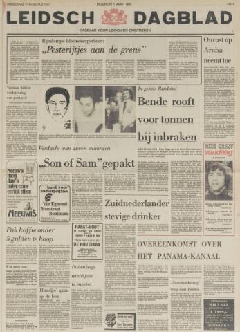 Leidsch Dagblad 1977-08-11