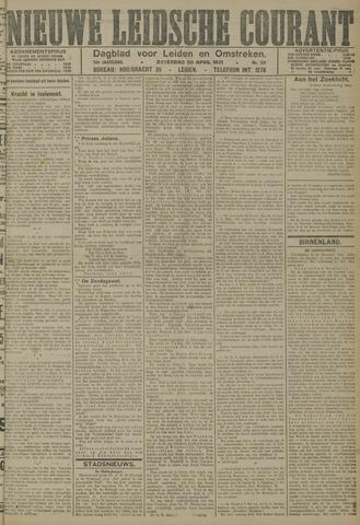 Nieuwe Leidsche Courant 1921-04-30