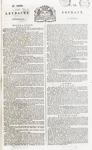 Leydse Courant 1839-04-10