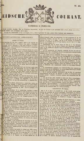 Leydse Courant 1885-02-21